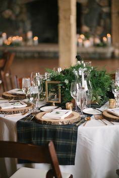 Cozy Winter Mountain Wedding | Glamour & Grace