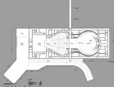 Apple's Campus 2 auditorium floor plan