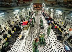 The Flying Hospital That Rushes Wounded Soldiers to Safety - C-17 Globemaster III - WIRED