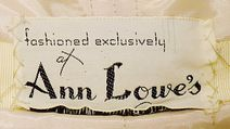 1956 Anne Lowe Label Metropolitan Museum of Art*