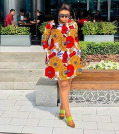 African Dresses Most Beautiful African Ankara Gown Styles -  DeZango  FacebookTwitterWhatsAppAddThis