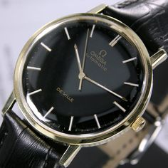 A personal favorite from my Etsy shop https://www.etsy.com/listing/264638568/1968-vintage-omega-de-ville-cal-711-24