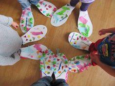 Big shoes like a clown, race! Circus Theme Crafts, Circus Crafts Preschool, Carnival Crafts, Carnival Themes, Toddler Crafts, Preschool Activities, Crafts For Kids, Circus Classroom, Carnival Activities