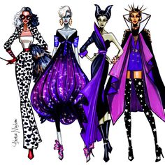 Disney Villains Collection - by Armand Mehidri Who is your favorite?
