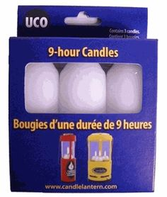 UCO 9 Hour Candles 3 pack