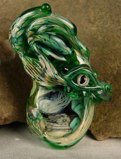 Handgefertigte GlasperlenSea Dragon Bead  Muir  von marylockwood