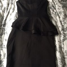 Wet seal tight black dress Strapless. Very cute with stilettos Wet Seal Dresses Mini