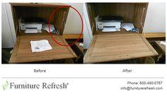 Cabinet: Broken door mechanism