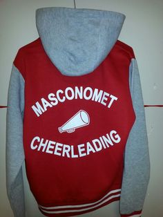 Back of varsity jacket