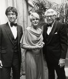 Alan Thicke and wife, Gloria Loring with Cary Grant