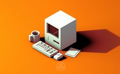 lowpoly: for creators and lovers of low-poly art Isometric Grid, Isometric Design, 3d Cinema, Systems Art, Low Poly Models, Low Poly 3d, Minecraft, 3d Artwork, 3d Max