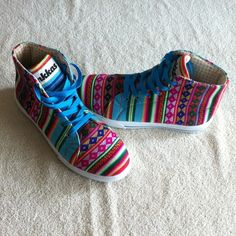 Inkkas - High Top Aztec Sneakers. Excellent condition. I am open to offers and no trades. Inkkas Shoes Sneakers