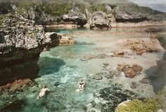 Niue - Limu pools. My heart aches to return #niue - by Rebekah Fraser