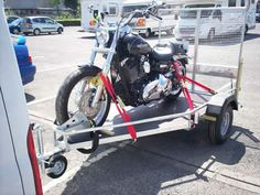 Motor Bike Cycle Scooter Trailers from www