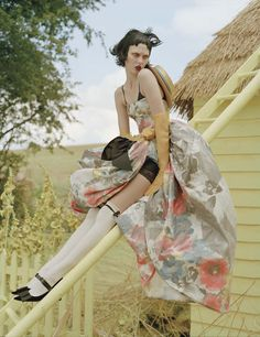 photographed by Tim Walker, styled by Jacob K; W magazine October 2010.