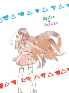 Sailor Moon x APH Taiwan