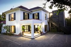 South Africa is on my travel bucket list, and this beautifully renovated 1950's 7 bedroom guest...