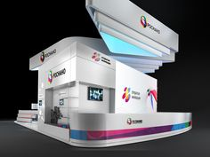 Exhibition stand for the Rusnano