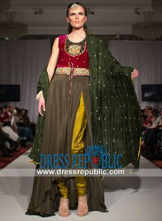 Elan Pakistani Ladies Party Dresses by Khadija Shah Canada Shop ...