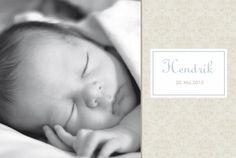 Geburtskarte Arabesk by Tomoë für Rosemood.de #babykarte #blumen #foto