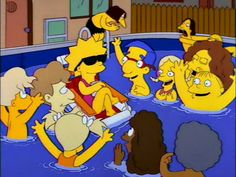 You started from the bottom now you're here.   29 Signs You're The Lisa Simpson Of Your Family