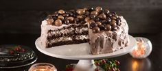 This Coconut Chocolate Cake tastes like Bounty candy. Soft and moist chocolate cake layers frosted with creamy coconut frosting. Sweet Desserts, Sweet Recipes, Cake Recipes, Cake Cookies, Cupcake Cakes, Cupcakes, Chocolate Pancakes, Chocolate Cake, Cake Tasting