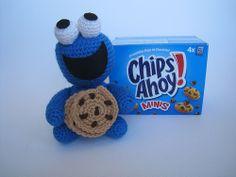 Amigurumi Triki - El Monstruo de las Galletas - Chips Ahoy! - www.annajois.es