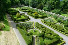 Formal Gardens Chillingham Castle