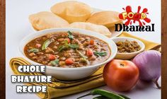 Chole Bhature Recipe - Chole Recipe - Bhature Recipe