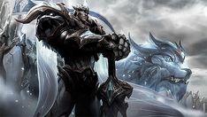 Lol League Of Legends, Xayah And Rakan, Warhammer 40000, Anime, Lion Sculpture, Gifs, Wallpapers, Fantasy, Indigo