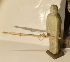 A personal favorite from my Etsy shop https://www.etsy.com/ca/listing/510522651/inuit-art-serpentine-carving-hunter-pat