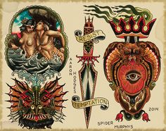 The Book: Spider Murphy's Tattoo Flash II