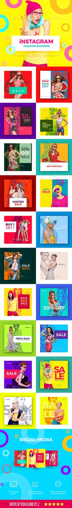 20 Fashion Instagram Banners