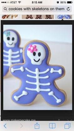Radiography cookies