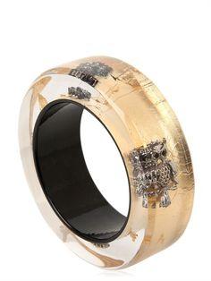 NICHOLAS KING - OWL BANGLE BRACELET - LUISAVIAROMA - LUXURY SHOPPING WORLDWIDE SHIPPING - FLORENCE Bangle Bracelets, Bangles, Luxury Shop, Owls, Florence, Sparkle, King, Club, Jewellery