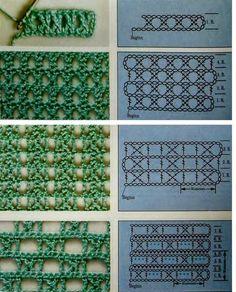 FIFIA CROCHETA blog de crochê : pontos lindos de crochê