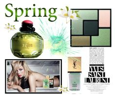 """""""Spring"""" by seadbeady ❤ liked on Polyvore featuring beauty, Yves Saint Laurent and springscent"""