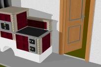 Ja spravím 3D návrh krbu, kachľovej pece ,kachľového sporáku - Jaspravim.sk