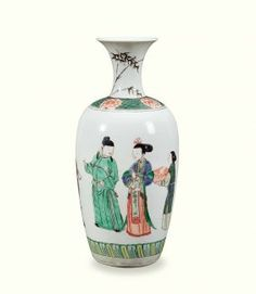 Emperor Kangxi Period of Qing Dynasty Famille Verte