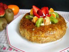 La receta de un pudin de pan hecho en el microondas. ¡Ten listo un súper postre en pocos minutos!