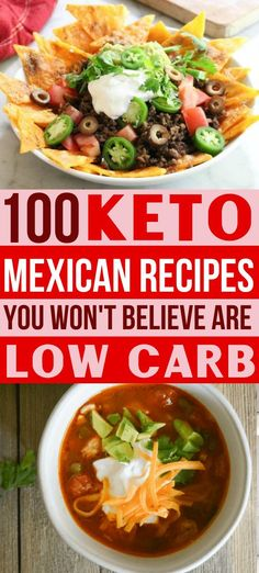 These keto Mexican food recipes are the BEST EVER!! Now I have some easy low carb Mexican dishes to make on my ketogenic diet!  Try the healthy nachos, tacos, enchiladas & all your other Mexican food favorites!! Makes great lunches & dinners!! #ketorecipes #mexicanrecipes #mexicanfood #ketogenicdiet #lowcarbrecipes #healthyrecipes