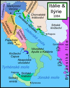 Italy and Illyria 1084 v2 cs - Bohemund z Tarentu – Wikipedie
