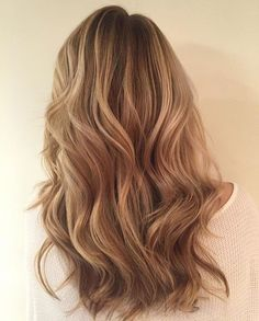 Because hair should move with you. That bronde bounce by Alison.