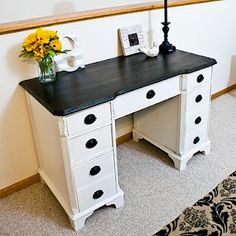 Love this desk. It looks a Lot like my grandmother's sewing desk.