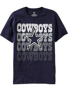 e186a5323 Mens NFL© Team Graphic Tees Dallas Cowboys