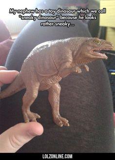 My Nephew Has A Toy Dinosaur...#funny #lol #lolzonline