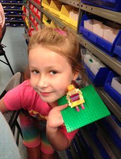Stella at Legoland