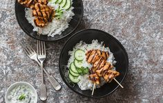 15 Easy Kabob And Skewer Recipes For Summer Grilling | Rodale's OrganicLife | Give your BBQ an upgrade with these fresh and light takes on summer grilling.