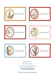 Mini-cartes d'oiseaux. Fiche numérique. Imprimable. Cartes de vœux, Étiquettes cadeaux, Ephemera, Shabby Chic, Collage, Découplage, Scrapbook, Junk Journal Shabby Chic, Make Your Own Card, Collage, Scrapbooking, Junk Journal, Ephemera, Mini, Gift Tags, My Etsy Shop