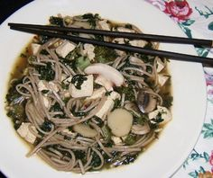 Dofu Cai Mian Tofu Vegetable Noodle Soup, Two Versions) Recipe - Food.com